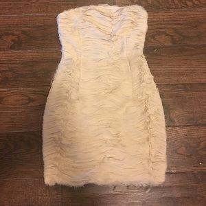 Strapless ark and company mini dress